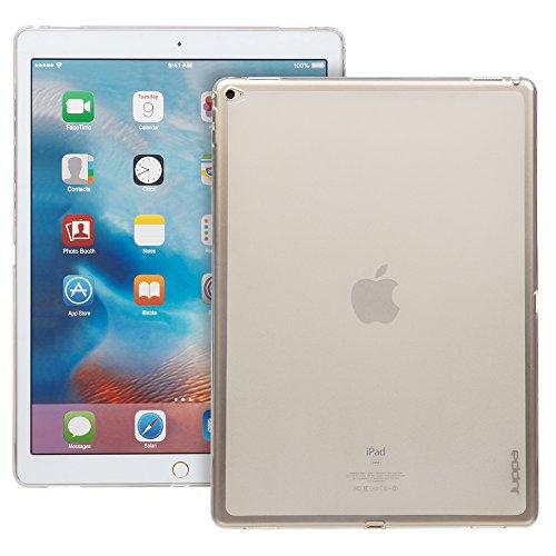 Juppa® Apple iPad Pro 12,9 Zoll 2015 TPU Silikon Tasche Hülle Schutzhülle mit LCD displayschutzfolie und Mikro-Reinigungstuch - Klar / - Lg Case Tablet Gel 7