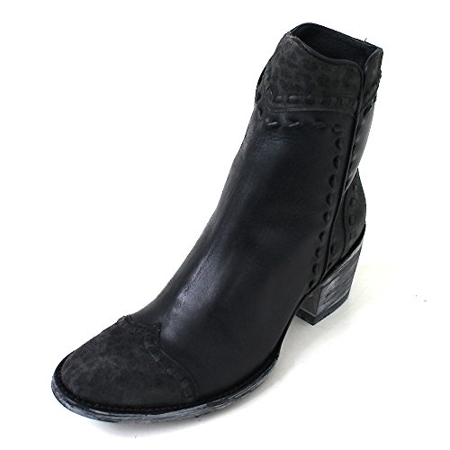 Mexicana - Stivali western Donna , nero (Schwarz (black rancheiro carbone