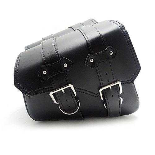 Schwarze Universal Motorrad Tasche motorrad Satteltaschen Tasche für Sporster