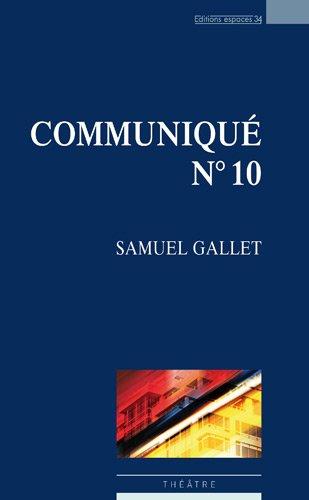 Communiqué n°10