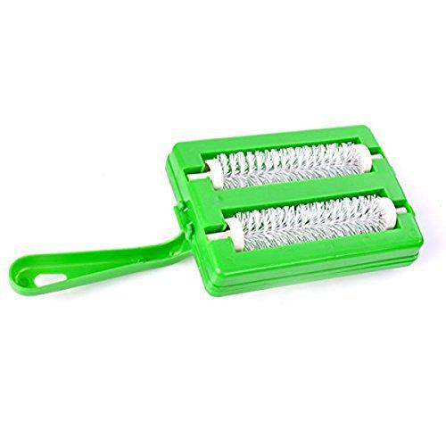 Cikuso 1 STueCK Kunststoff Hand Teppich Schutt Pinsel Sofa Teppich Pet Haarbuerste multifunktionale Staub Magnetbuerste Reinigungswerkzeuge
