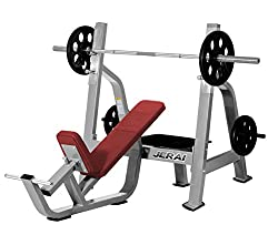 Jerai Fitness Olympic Incline Bench, 55x78x86 inches