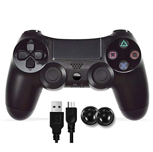PS4 Controller, Wireless DoubleShock Controller Kompatibel mit Playstation 4/Slim/Pro Audio Pro Wireless-headset