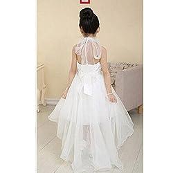 Rosennie Flower Girl Princess Dress Kid Party Pageant Wedding Bridesmaid Tutu Dresses