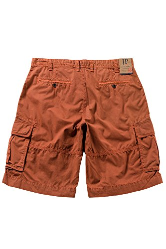 JP 1880 Herren Shorts Cargobermuda Muster Orange