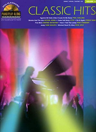 Classic hits piano+CD: v. 14 (Hal Leonard Book & CD)