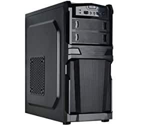 HKC CASE ATX PER PC 430 WATT NERO, MOD. B2
