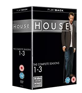House: The Complete Seasons 1-3 [DVD]