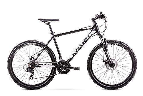 Milord. 2019 MTB - Mountain Bike Rahmen - Fahrrad - 21 Gang - Schwarz Weiss - 26 Zoll