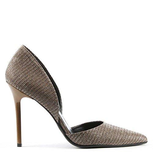 Daniel Treillis Métallique Or Deux Partie Chaussure Nicolette Gold Metalic
