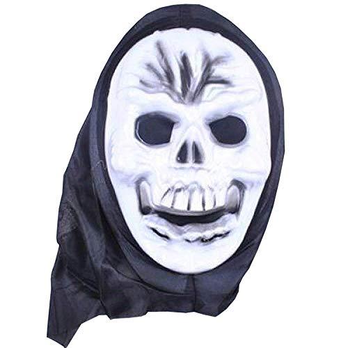 Skelett Männliches Kostüm - Maske Maskerade Prom Maske Latex Hölle Männliche Horrormaske Mit Geistern Halloween Kostüm Kopfbedeckung Skelett Mystisch Haunted Horror Halloween Theme