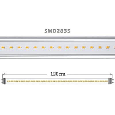 2 X Auralum T8 G13 4ft 120cm 20W 6000K~6500K SMD 2835 Tageslicht Weiß LED Röhre Leuchtstoffröhre Licht Tube für Büro Haus Laden von Temtop bei Lampenhans.de