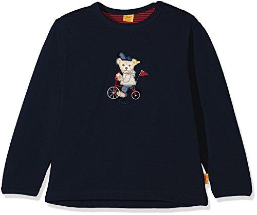 Steiff Baby-Jungen Sweatshirt 1/1 Arm, Blau (Marine|Blue 3032), 62