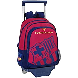 077064 F.C. Barcelona Mochila Tipo Casual, Color Azul y Granate
