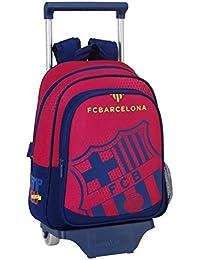 077064 F.C. Barcelona Mochila Tipo Casual, Color Azul y Granate