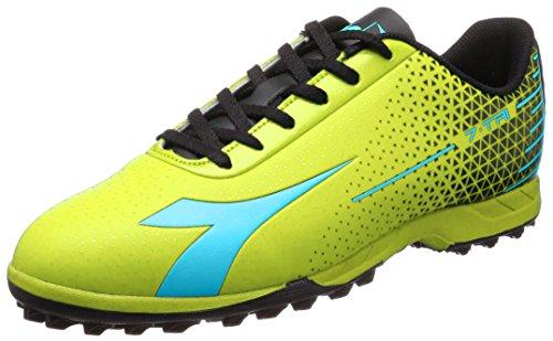 Diadora 7 Tri TF Scarpe da Calcio Uomo Giallo Giallo FL Blu FL Nero 40.5...