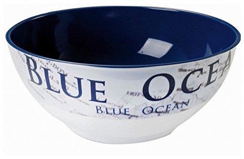 Navyline Blue Ocean - Hart-Kunststoff Schüssel Geschirr Für Boote