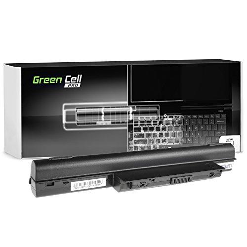 Green Cell PRO Extended Serie AS10D31 AS10D3E AS10D41 AS10D51 AS10D61 AS10D71 AS10D73 AS10D75 AS10D81 Akku für Acer/eMachines/Packard Bell Laptop (Original Samsung SDI Zellen, 9 Zellen, 7800mAh, Schwarz)
