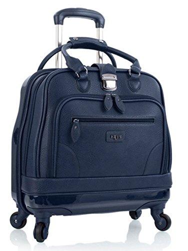 Polycarbonat-rad (Aktentasche auf Räder Damen Business Trolley von Heys Navy Blau Bowatex)