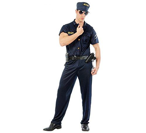 Imagen de disfraz de policía cachas para hombre