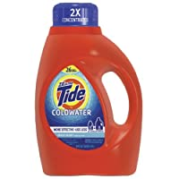 Procter And Gamble Tide 13755 Fresh Scent Coldwater Liquid Laundry Detergent, 50 Ounces, 26-loads (Case of 6)