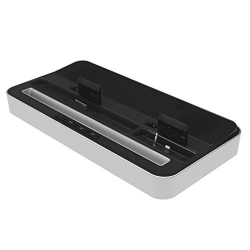 Preisvergleich Produktbild iPega Multifunktionsstandplatz Ladegerät Lautsprecher-Dockingstation für iPhone 6 / 5 iPAD 2 / 3 / 4 / mini für Samsung Galaxy Regard