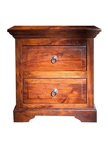 MASSIVMOEBEL24.DE Kolonialstil Kommode Akazie Möbel massiv Oxford #905