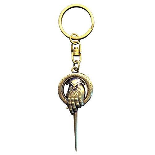 Preisvergleich Produktbild Game of Thrones - 3D Metall Schlüsselanhänger - Die Hand Des Königs
