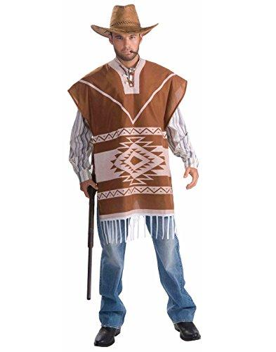 Cowboy Lone Kostüm - Forum Men's Lonesome Cowboy Costume, Tan, One Size by The Lone Ranger