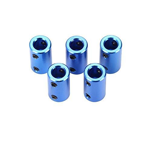 Accoppiatore flessibile per stampante Nema 17 Giunto flessibile in alluminio per connettore Ender 3 Ender 3 Pro CR-10 10S S4 Prusa Duplicator i3 CNC Machine Blu