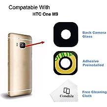 Cemobile Para HTC One M9 Recambio Para Cubre Lente de la Cámara Trasera Con Adhesivo
