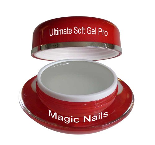 Magic Items Ultimate Gel UV Soft Pro 3 en 1 Gel Épaisseur Transparent 15 ml