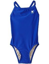 TYR Sport Girls Solid Diamondback Swim Suit