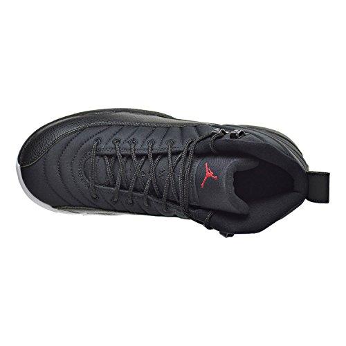 Nike Air Jordan 12 Retro Bg, Scarpe da Basket Uomo Black (Nero / Palestra Rosso-Bianco)