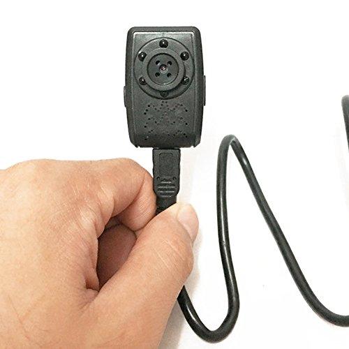 StaunchWea Surveillance cameras Spy Hidden Button Camera HD 1080P IR Night Motion Detector Mini USB Camcorder - Black
