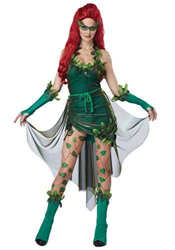 Plus Size Poison Ivy Batman Costume. Two Sizes.