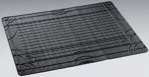 Raida Universal Gummi-Kofferraummatte, Auto Gummimatte Kofferraum, 100 x 80 cm in Schwarz, 1 Stück