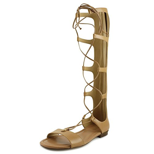 Michael Michael Kors Sofia Gladiator Donna US 7.5 Beige