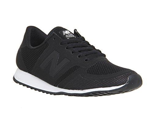 New Balance U420DV1, Baskets Basses Homme Noir