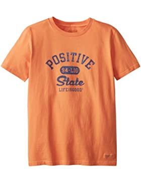 Life is Good Jungen Crusher positiven State Shirt