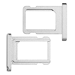 """BisLinks® Weiß / Silber Nano SIM Karte Tablett Halter Ersatz Teil Für iPad Pro 9.7"""""""