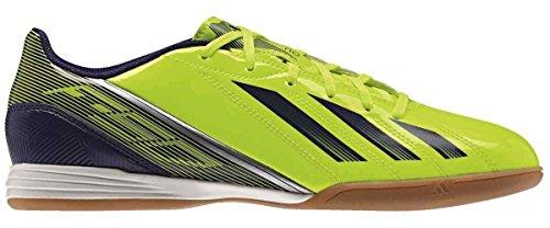 ADIDAS F10 IN giallo fluo (art. G96447) - scarpe da calcetto,futsal,calcio a 5 (46 - UK 11)