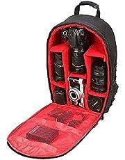 Ketsaal DSLR/SLR Light Weight Backpack Bags(Red)
