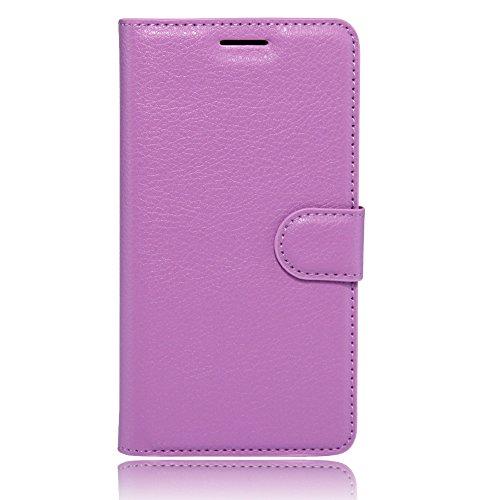 COVO® PU+TPU Kunstleder Brieftasche Hülle für Archos 55 Cobalt Plus mit Stand Funktion (Grün)