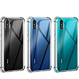 """Bumper Shell Soft TPU Silicone Clear Transparent Cover Shockproof For Xiaomi Redmi 9A [6.53"""" 2020]"""