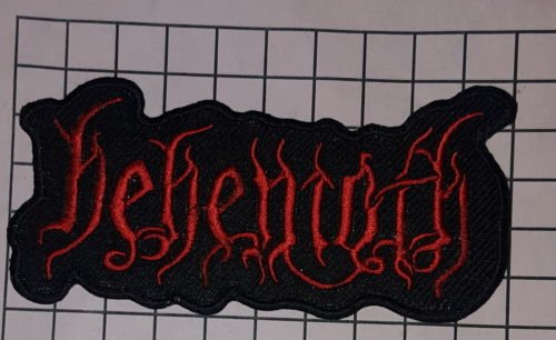 Logo-rockband (Behemoth Embroidered Sew/ Iron On Heavy Death Metal Logo Rock Band PATCH by Gadgets2Sel)