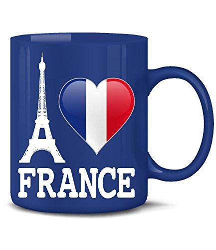 I Love France 4458(Blau)