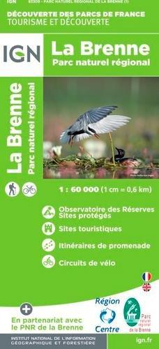83309 PARC NATUREL REGIONAL DE LA BRENNE  1/60.000