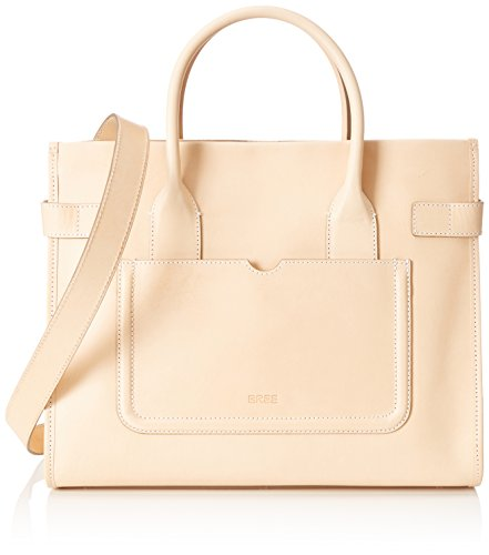 BREE CollectionOslo 25 - Borsa con maniglia da donna Beige (Nature 750)