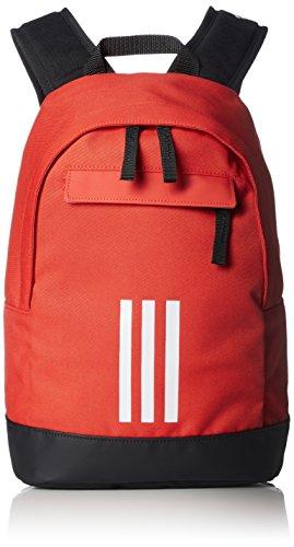 adidas Kinder Adi Classic 3-Streifen XS Rucksack, Hi-Res Red/White, 34 x 22 x 11 cm